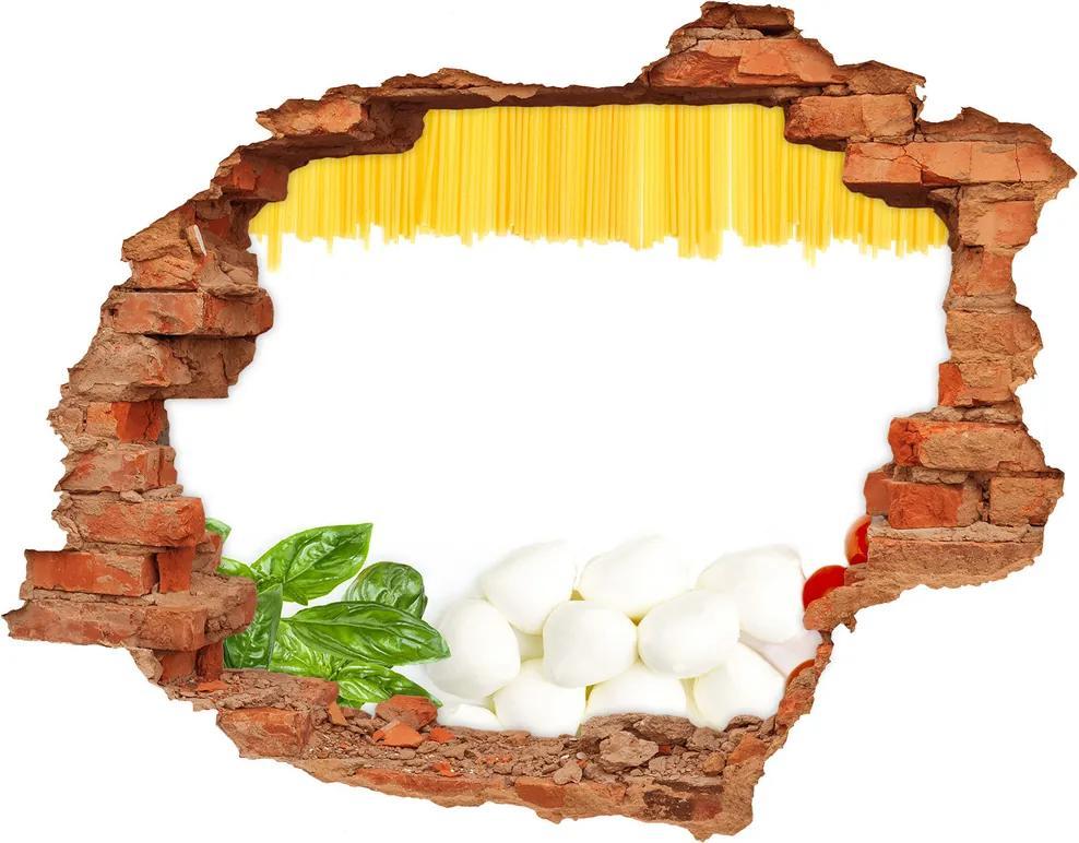 Samolepiaca nálepka betón Talianska vlajka
