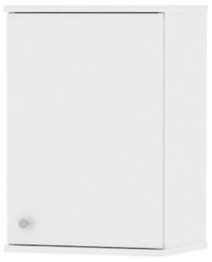 Dulap suspendat pentru baie, 40x30x60 cm, PAL Alb