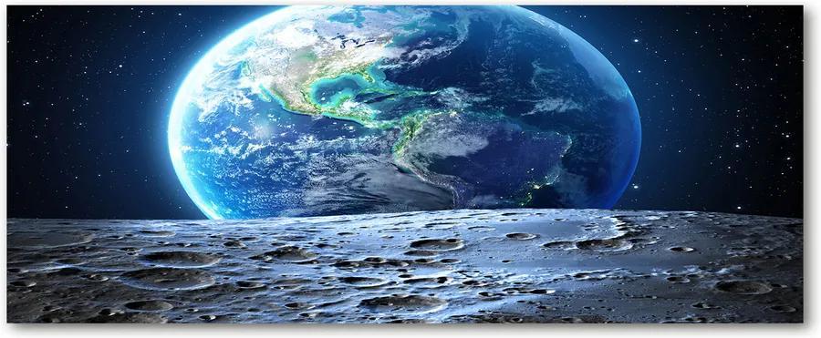 Tablou pe sticlă acrilică Planeta pământ