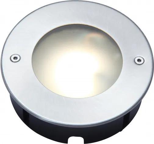 Lutec 7704601012 Incastrate in pamant STRATA oțel inoxidabil aluminiu Seoul 3030 320lm 3000K IP67 A+