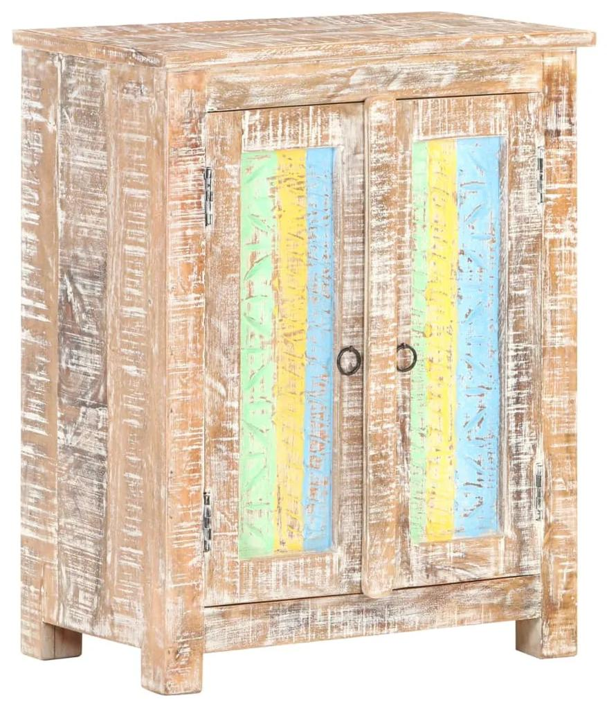 321792 vidaXL Servantă, 61x35x76 cm, lemn de acacia nefinisat