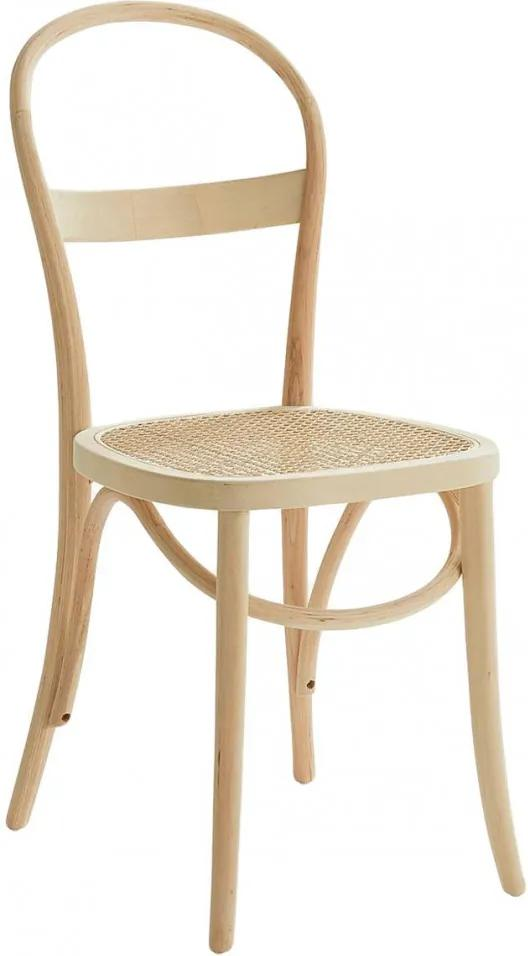 Set de 2 scaune Rippats, maro, 39 x 89 x 53 cm