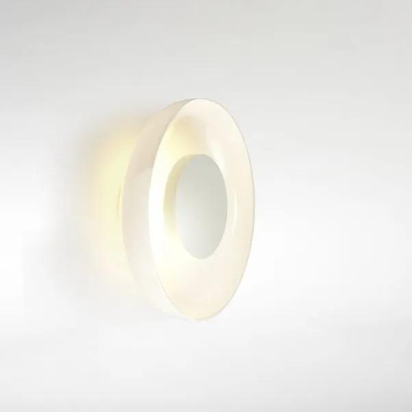 Aura Plus - Aplică albă din sticlă