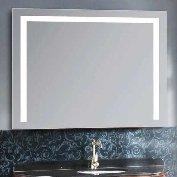 Oglindă sistem iluminare bandă LED cu 3 culori, Senzor Tactil, Luminozitate Reglabilă, Sistem prindere în perete, GLAM 1L