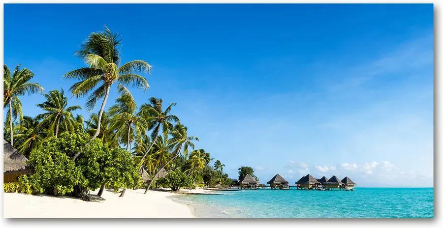Tablou pe acril Plaja din Caraibe