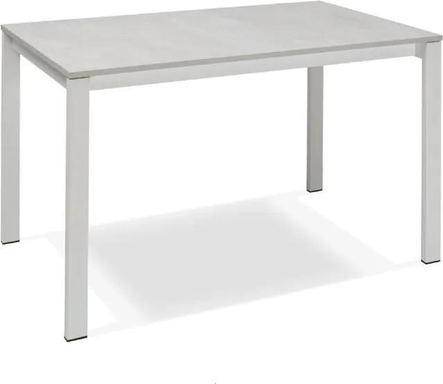 Masă dining extensibilă Design Twist Jian, alb