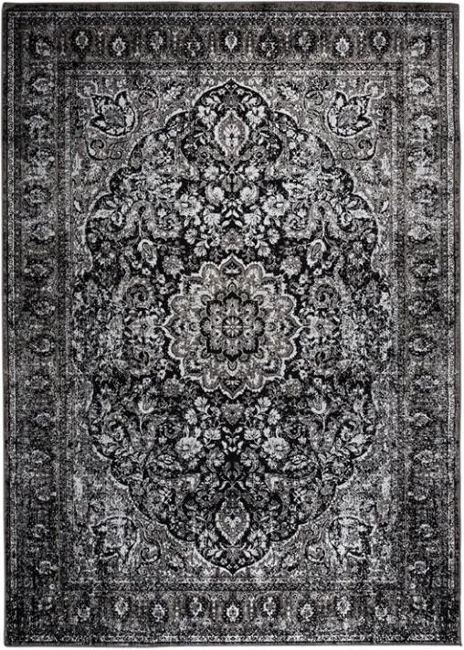 Covor negru 160x230 cm Chi Black White Label