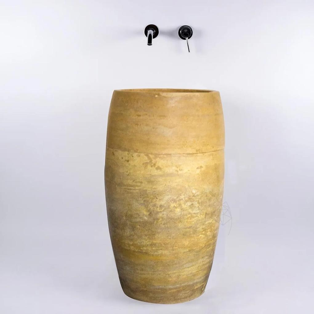 Chiuveta Tao travertin yellow SP-22 82 x 48 cm