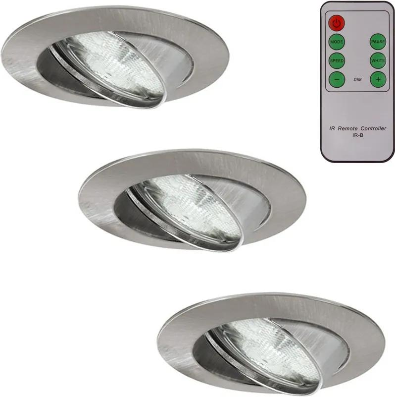 Paulmann 93704 - SET 3x LED Lampă dimmabilă WELLNESS 3xLED/3W/230V