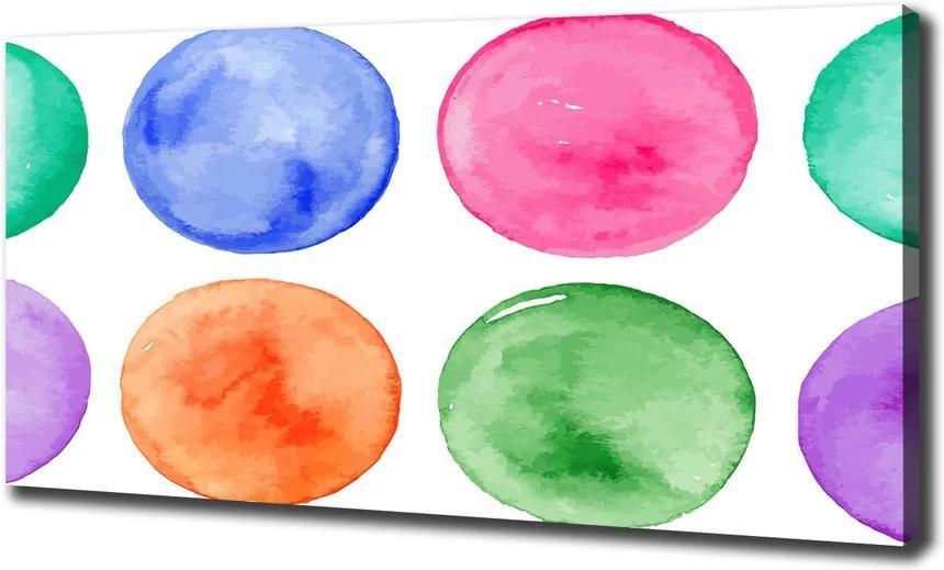 Tablou pe pânză canvas Cercuri colorate