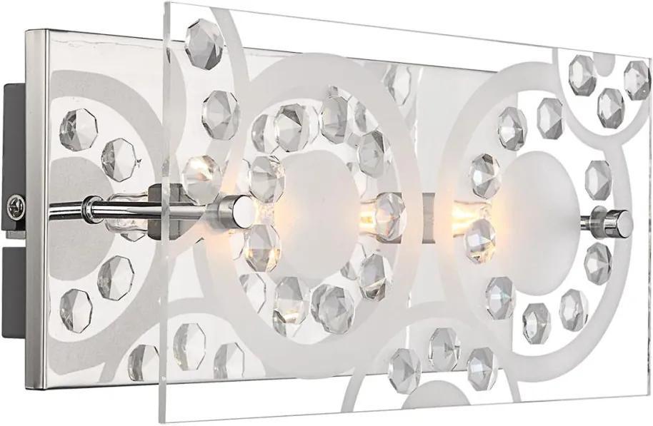 GLOBO 48690-2 - Corp de iluminat perete DIANNE 2xG9/33W