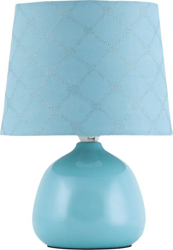 Rábalux Ellie 4382 Lampa de masa de noapte albastru albastru 1 x E14 max. 40W 26 x 18 x 18 cm