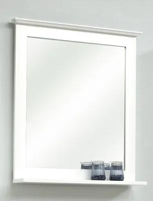 Oglinda baie cu polita pelipal Jasper 68x60 cm, alb