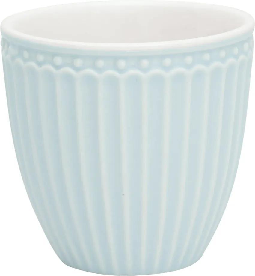 Ceașcă din gresie ceramică Green Gate Alice, 0,1 l, albastru deschis