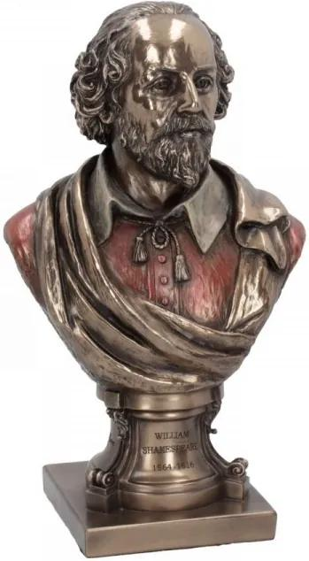Statueta bust William Shakespeare 23cm