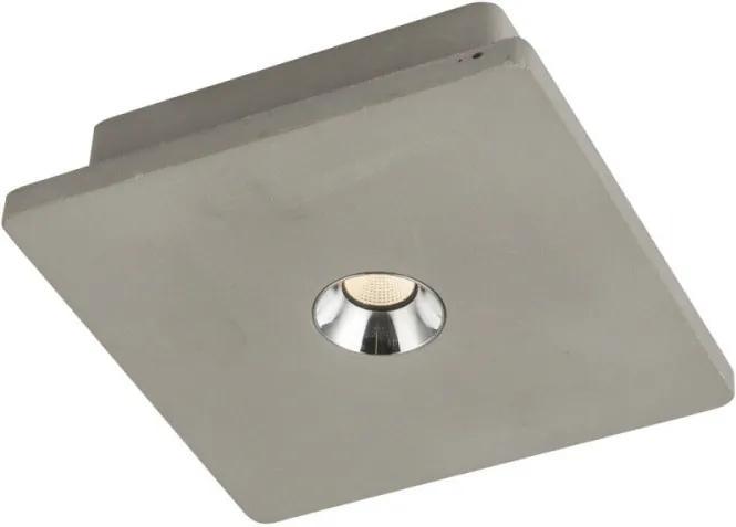 Globo 55011 Plafoniere cu spoturi TIMO Beton beton LED - 1 x 4,2W 200lm 3000K IP20 A