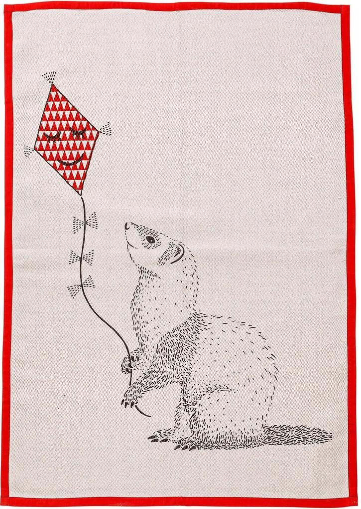 Covor din Bumbac Rose - Bumbac Rose Lungime(100cm) x W(70cm)