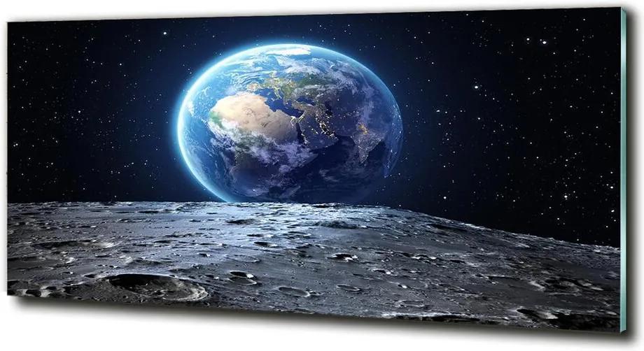 Tablou din Sticlă Planeta Pământ