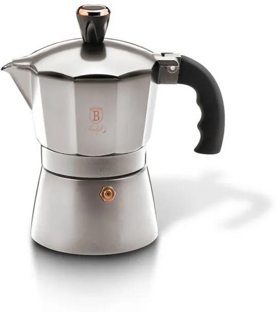 Espressor cafea pentru aragaz (Cafetiera) 3 cesti Moonlight Edition Berlinger Haus BH 6389