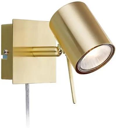 Spot LED alama Hyssna Brass Markslojd
