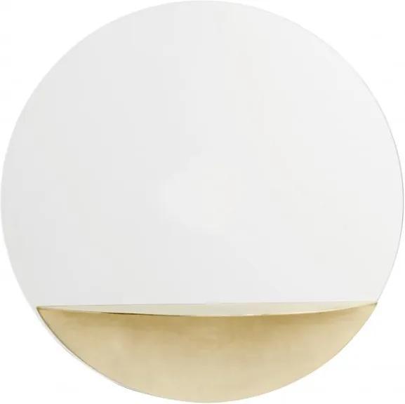 Oglinda rotunda Ø40cm Golden Shelf