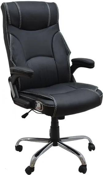 Scaun de birou cu vibromasaj SCB 2428 Negru