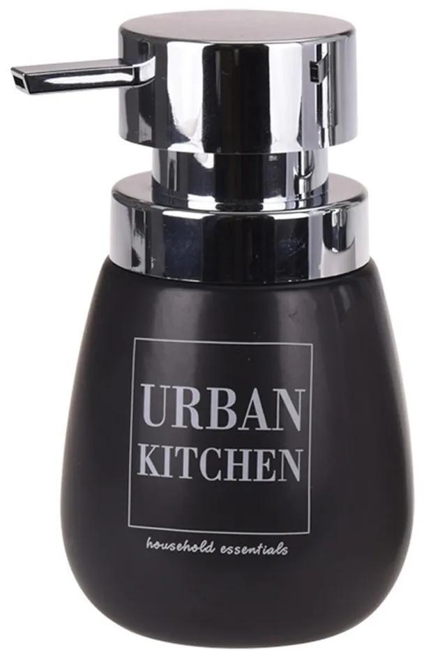Dozator săpun lichid Urban kitchen, negru