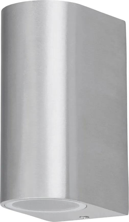 Rábalux Chile 8034 Aplice pentru iluminat exterior Aluminiu periat GU10 2x MAX 35W 65 x 145 mm