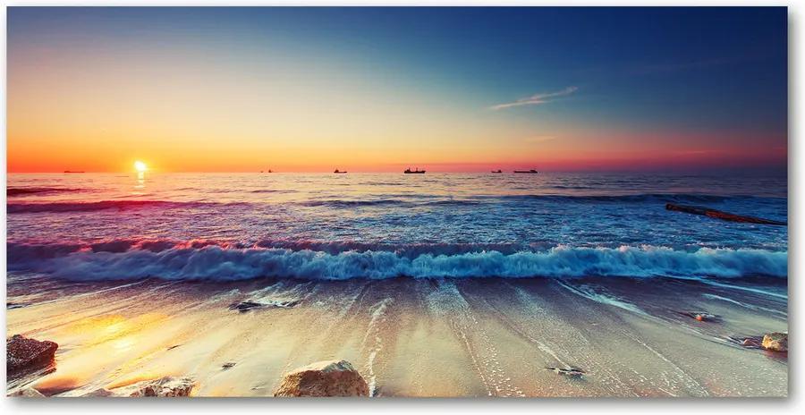 Fotografie imprimată pe sticlă Sunrise mare