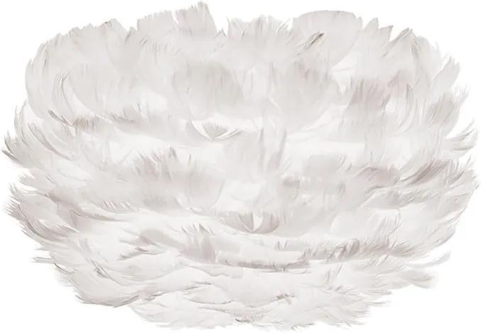 Abajur cu pene de gâscă UMAGE EOS, ⌀ 22 cm, alb