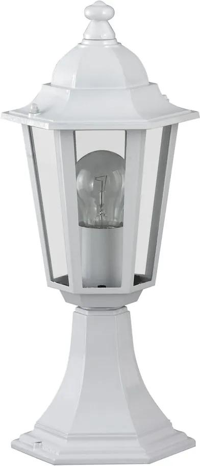 Rábalux 8205 Lampadare exterior Velence alb metal E27 1x MAX 60W IP43