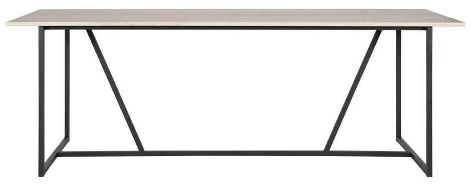 Masa dining din lemn de frasin Silas Sydney 220x90