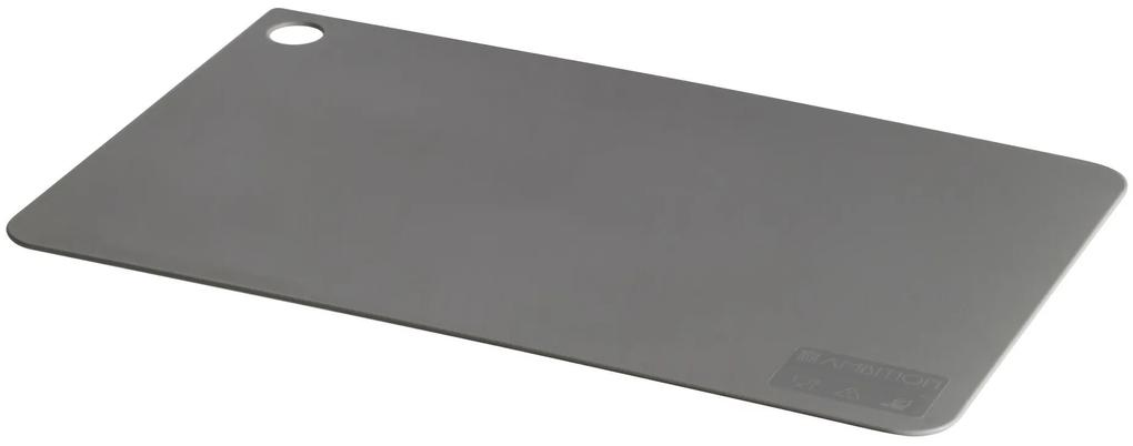 Bord tocare plastic 38,5cmx24cm gri Nordic
