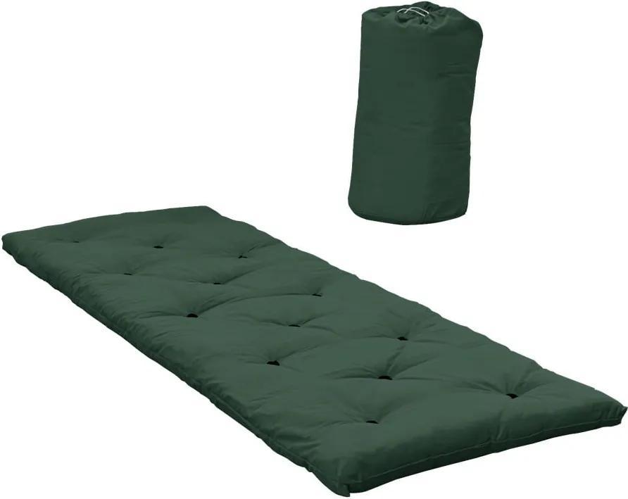 Pat pentru oaspeți tip saltea Karup Design Bed in a Bag Forest Green
