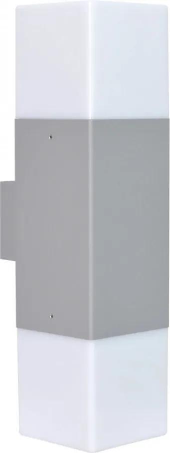 Trio 220060287 Aplice perete HUDSON argintiu aluminiu incl. 2 x E14, 4W, 3000K, 320Lm
