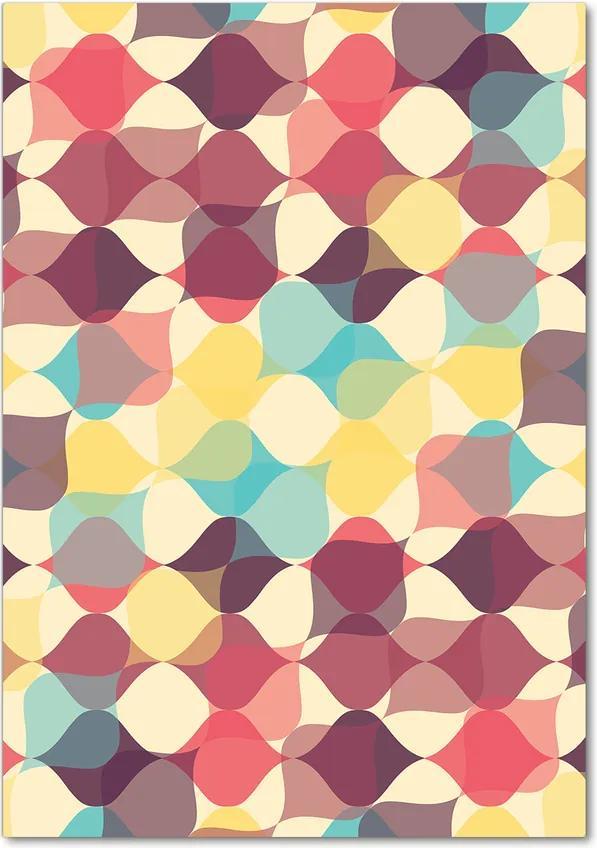 Tablou acrilic Fundal geometrică