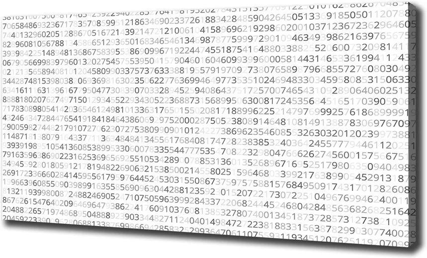 Print pe pânză Cod binar
