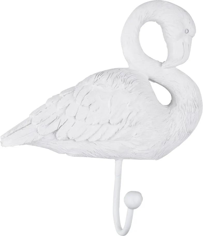 Cârlig PT LIVING Flamingo, alb