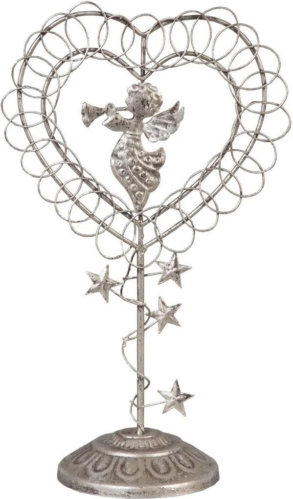 Decoratiune Angel Silver