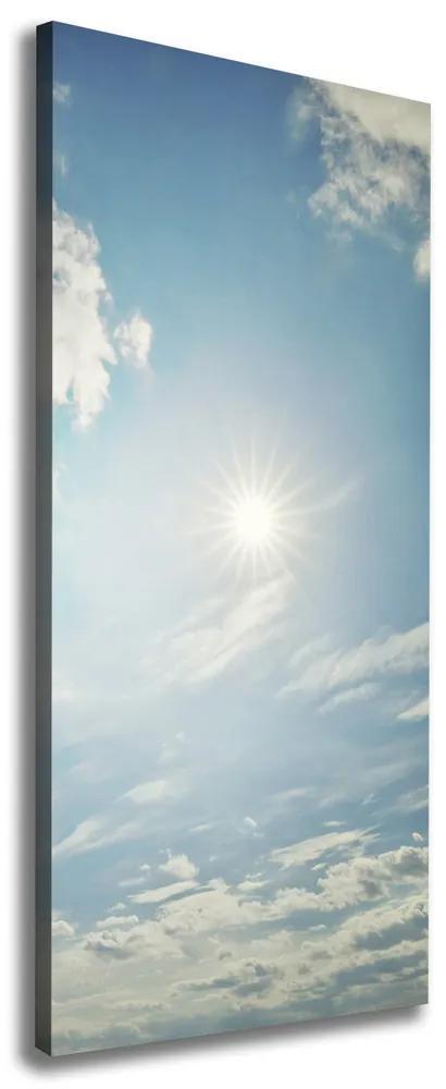 Tablouri tipărite pe pânză Soarele pe cer