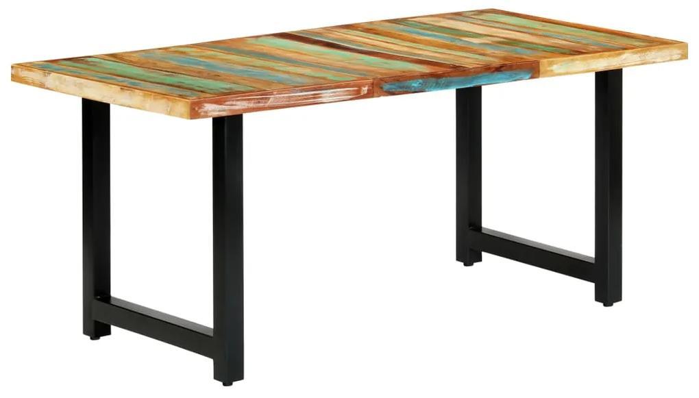 283786 vidaXL Masă de bucătărie, 180 x 90 x 76 cm, lemn masiv reciclat