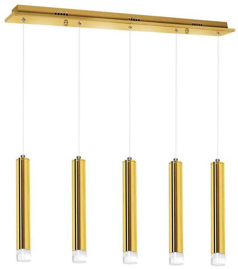 Suspensie GOLDIE Milagro Modern, LED, Auriu, ML5715, Polonia