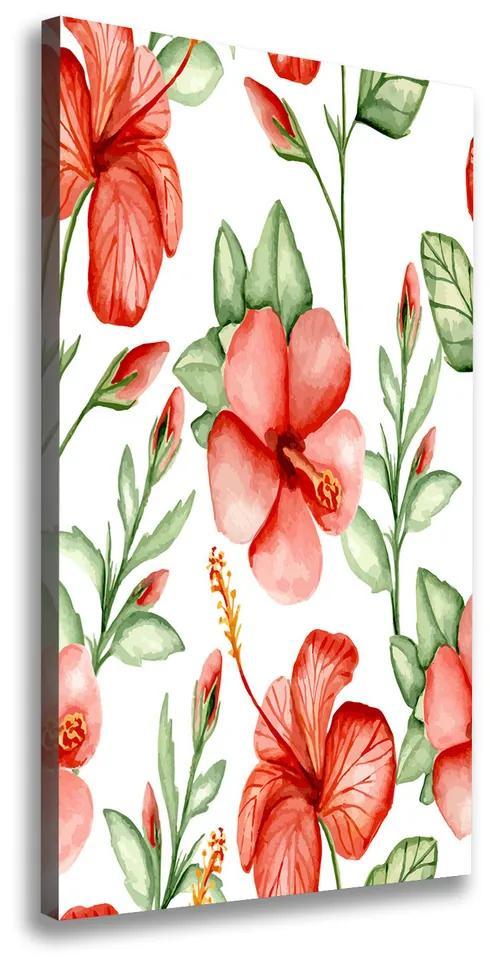 Imprimare tablou canvas Flori tropicale