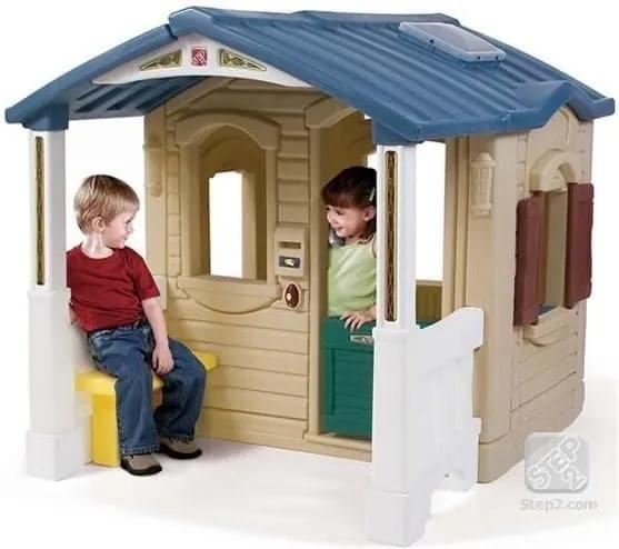 STEP2 - Casuta cu pridvor - Naturally Playful Front Porch Playhouse