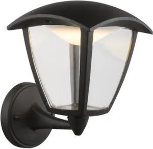 Globo 31825 Aplice pentru iluminat exterior DELIO negru aluminiu 1 x max. 7W 360lm 3000K IP44 A