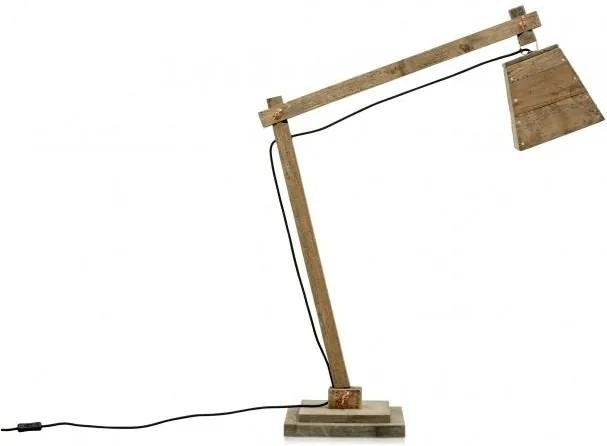 Lampa birou maro din pin 90x30x105 cm William