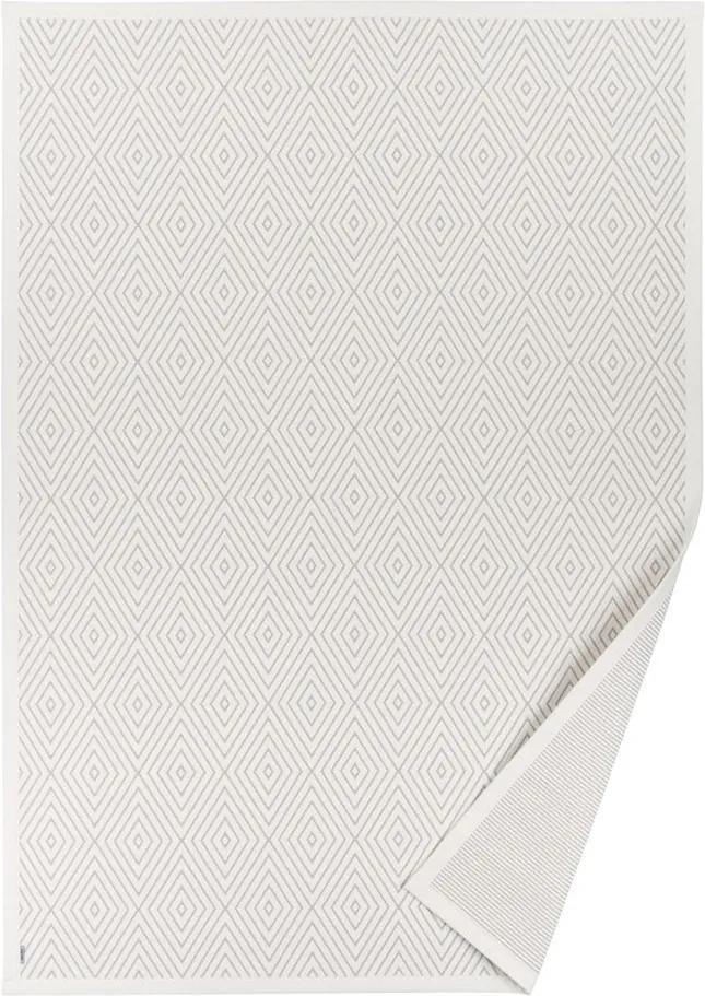 Covor reversibil Narma Kalana, 70 x 140 cm, alb