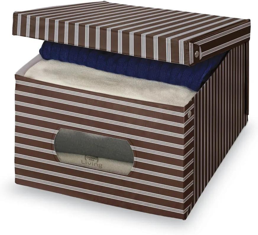 Cutie depozitare Domopak Living, 24 x 50 cm, maro