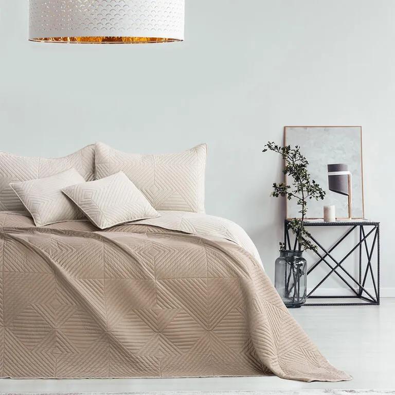 Cuvertură de pat SOFTA, bej pat dublu