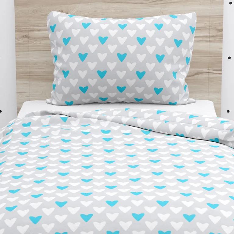 Goldea lenjerie de pat din bumbac pentru copii - model 526 140 x 200 și 70 x 90 cm